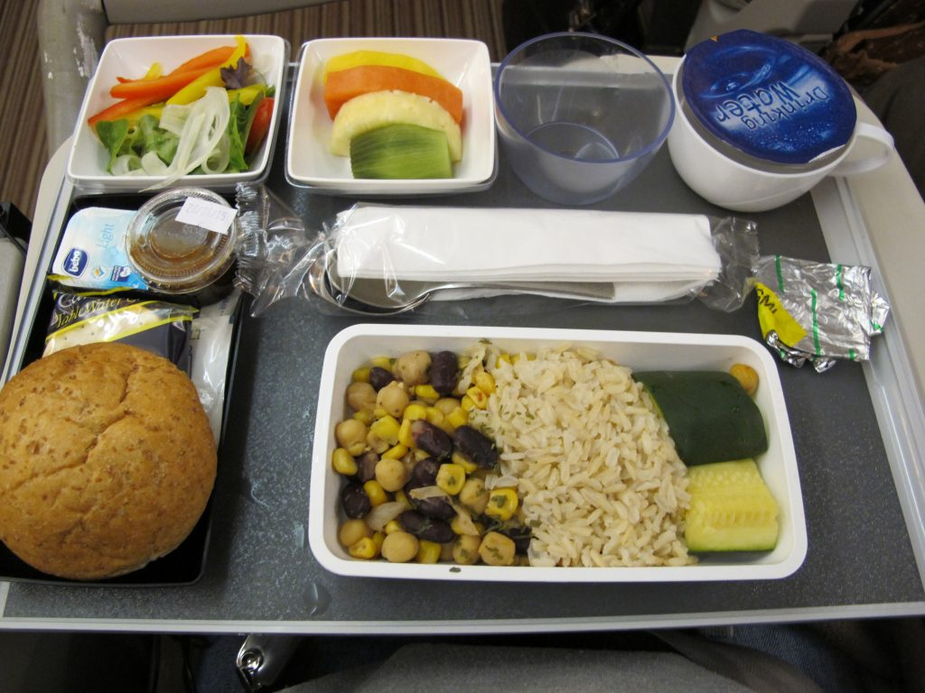 why not make vegan meals the default meals on airplanes?