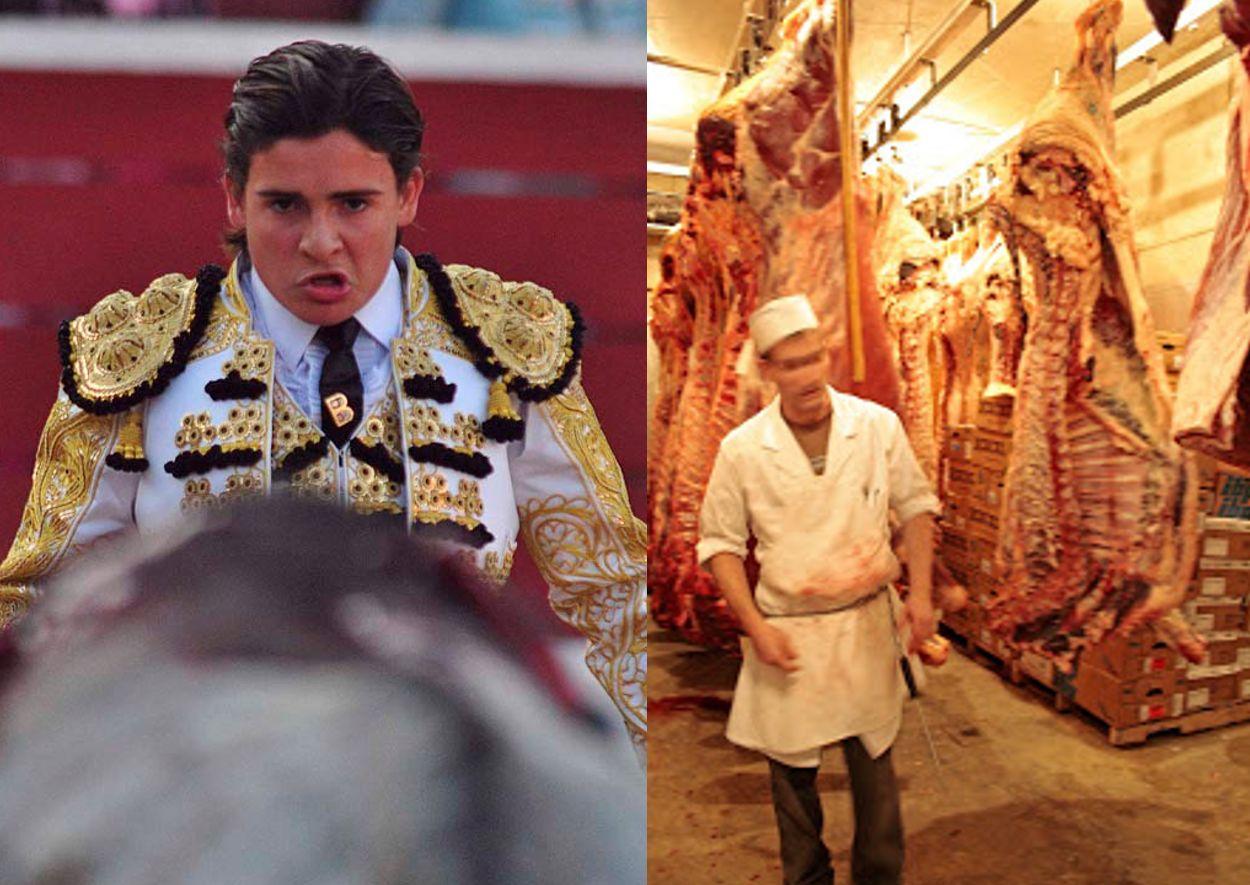 butcher and toreador