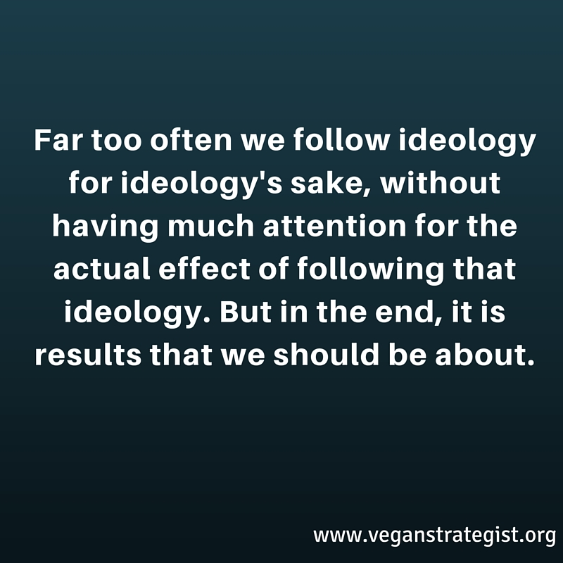 ideology vs results